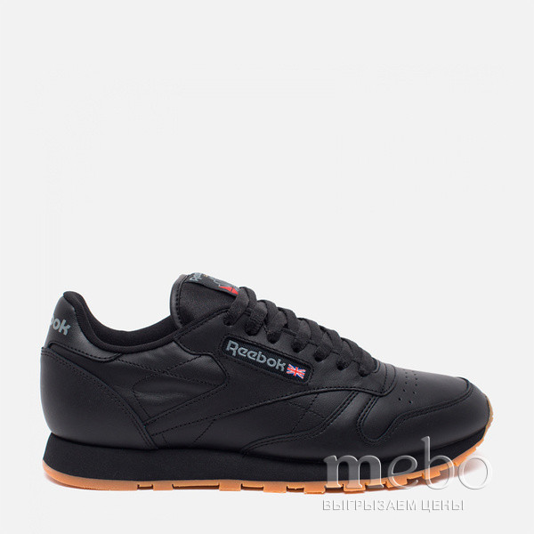 Кроссовки Reebok Classic Black Leather 49800 | mebo.com.ua