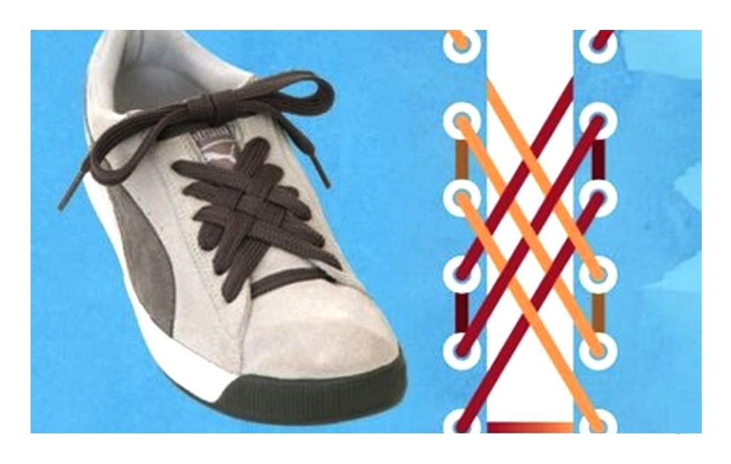 Как зашнуровать кроссовки: 10 способов на каждый день - 4 | mebo.com.ua