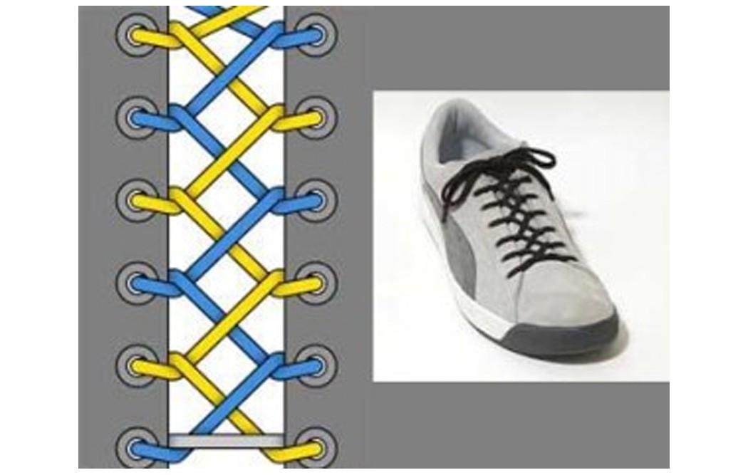 Как зашнуровать кроссовки: 10 способов на каждый день - 10 | mebo.com.ua