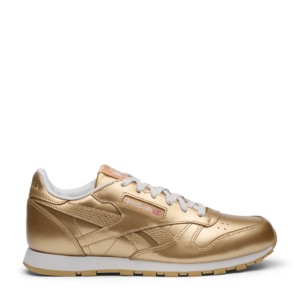 Кроссовки Reebok Classic Leather Metallic Gold BS8944