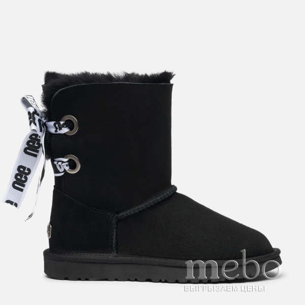 Женские угги UGG CUSTOMIZABLE BAILEY Bow Short Boot 1098075-BL | mebo.com.ua