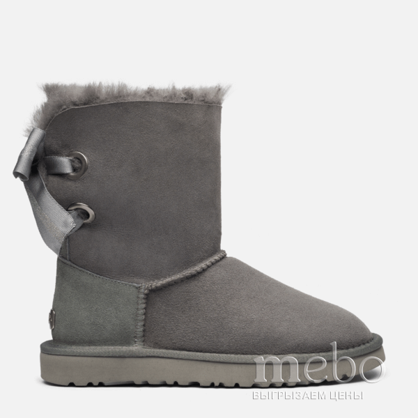 Женские угги UGG CUSTOMIZABLE BAILEY Bow Short Boot 1098075-GR | mebo.com.ua