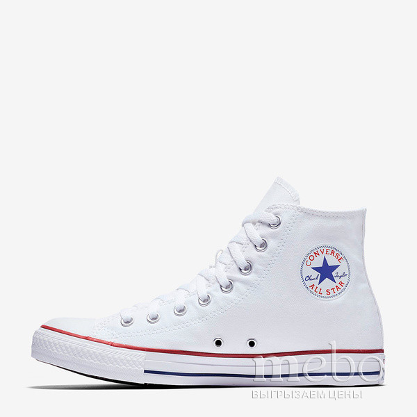 Кеды Converse All Star HI M7650 W: женские Кеды - 2 | mebo.com.ua