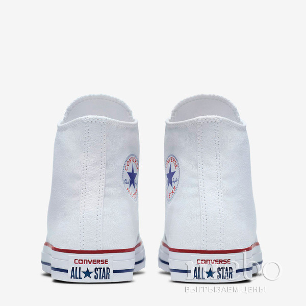 Кеды Converse All Star HI M7650 W: женские Кеды - 4 | mebo.com.ua