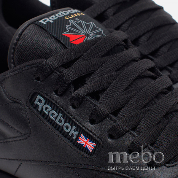 Кроссовки REEBOK Classic Black Leather 49800